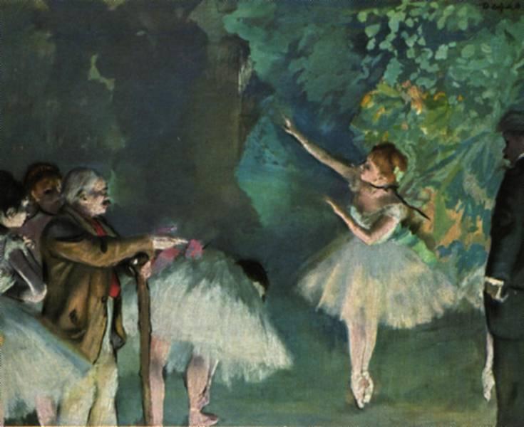 Degas-Ballet Rehearsal