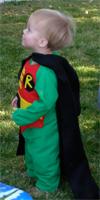 Abe as Robin