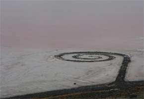 the spiral jetty