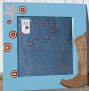 cowboy magnet board