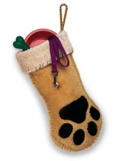 FF's Puppy Paw stocking