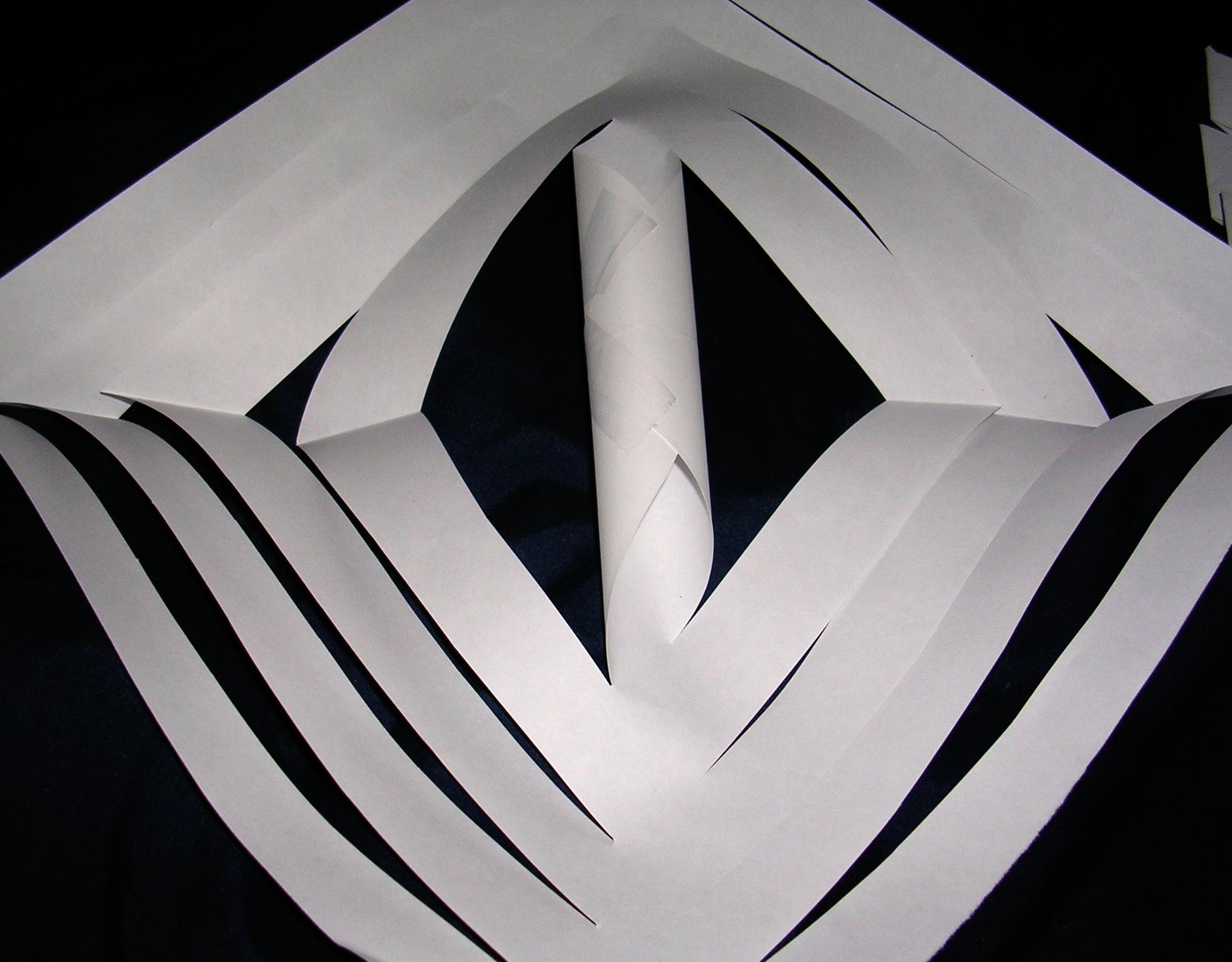 Folding the corners in