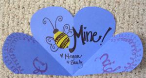 Inside of valentine