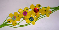 front of flower bracelet
